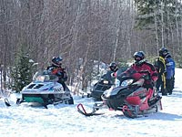 Snowmobile Rusk County