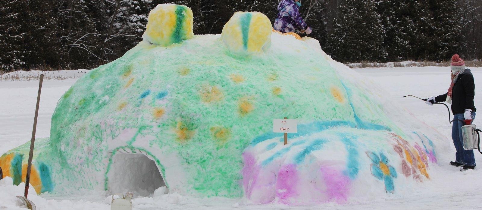 Fun on the Frozen Flambeau