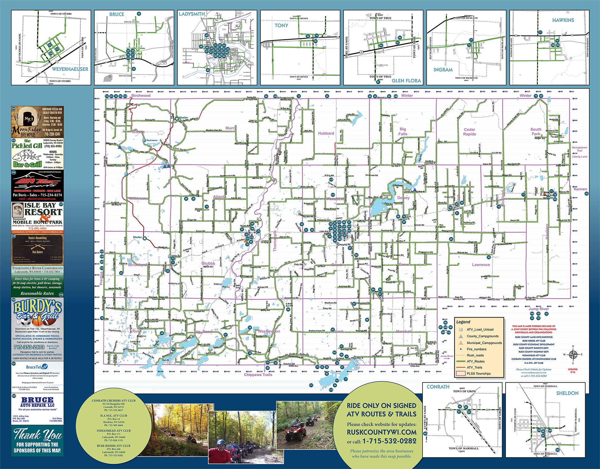 ATVing | Rusk County Wisconsin : Rusk County Wisconsin