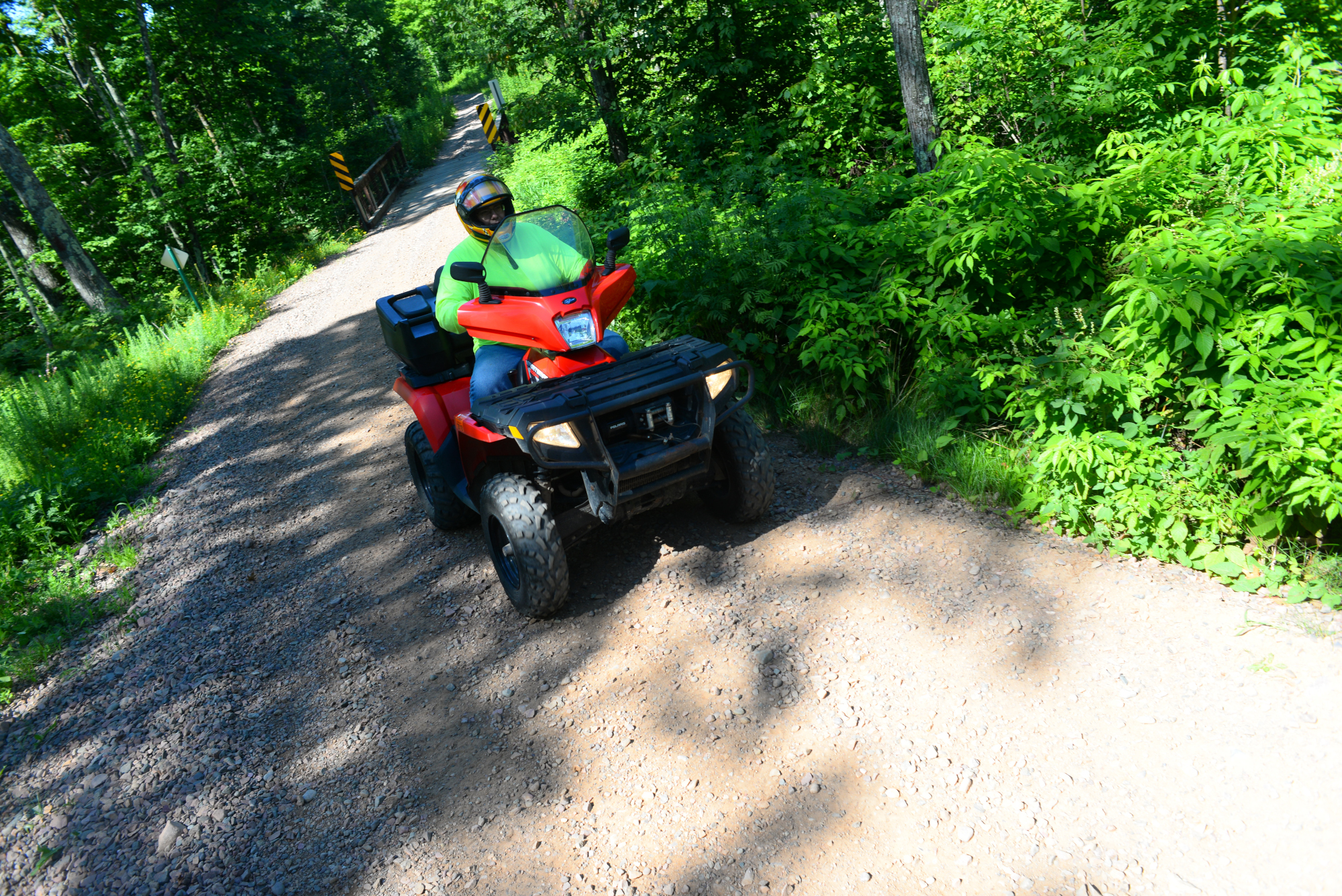 atving blue hills rusk county wisconsin