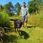 Reclaimed Flambeau Mine trails Rusk County WI