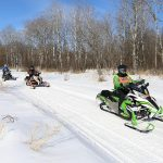 Snowmobiling Rusk County Wisconsin