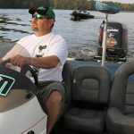 Fall boating in Rusk County WI